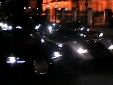 [Vidéo] La nuit, une Zonda Cinque et une Bugatti Veyron Pur Sang terrifient le centre de Londres