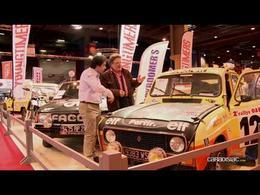 Vidéo en direct de Rétromobile 2014 - 35 ans de Paris-Dakar...