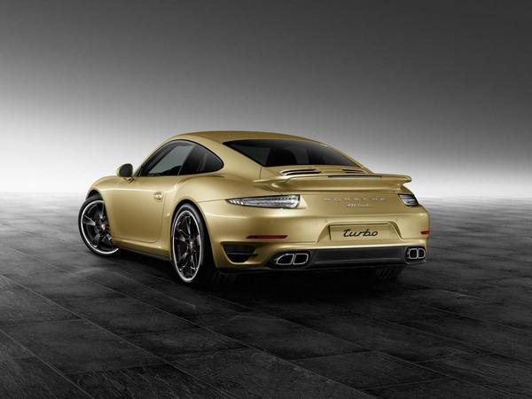 Rapid'news - Une Porsche 911 Turbo dorée...