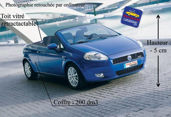 La Fiat Grande Punto Cabriolet se prépare
