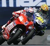 Moto GP - Laguna Seca: Stoner, pas content après Rossi
