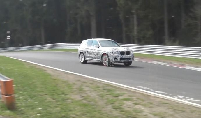 Le BMW X3 M est prêt
