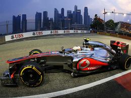 F1/GP Singapour - Hamilton et McLaren en pole