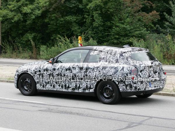 Spyshot : future BMW Serie 1, cette fois la version 3 portes