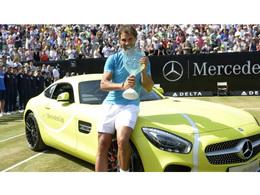 Rafael Nadal n'aime pas la couleur de son AMG-GT offerte par Mercedes
