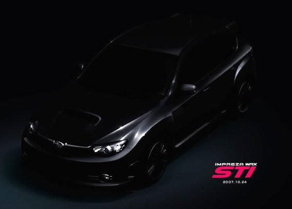 Subaru Impreza WRX STi : teasing 3