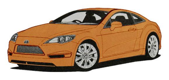 Coupé ToyoBaru : La Celica de retour