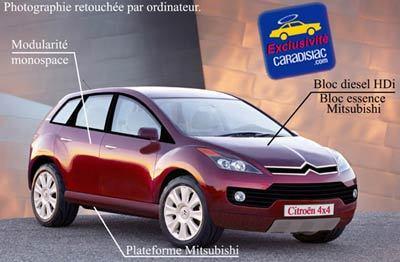 En 2007 Citroën fera du tout-terrain