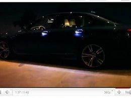 [vidéo pub] la BMW M5 et ses poignées lumineuses