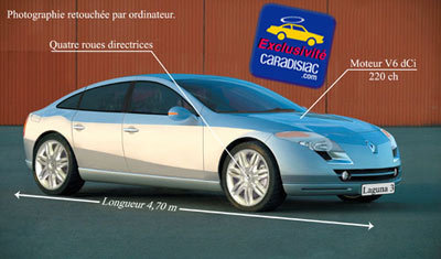 Renault Laguna : elle changera en 2007