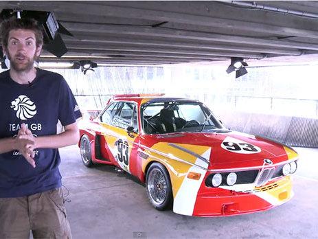 Une visite de l'antre des BMW Art Car en vidéo, cela vous dit?