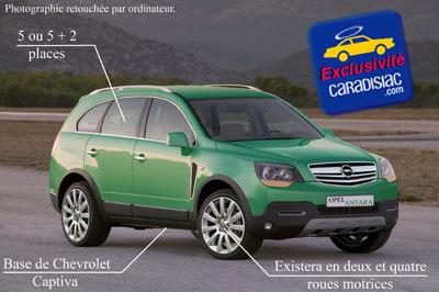 Opel va faire du tout-terrain