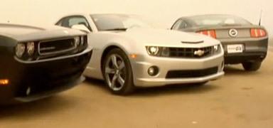 MuscleCars Battle : Camaro vs Mustang vs Challenger - acte 1