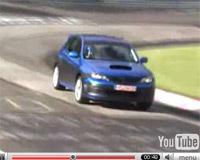 Vidéo: La Subaru Impreza WRX STi sur le Ring'