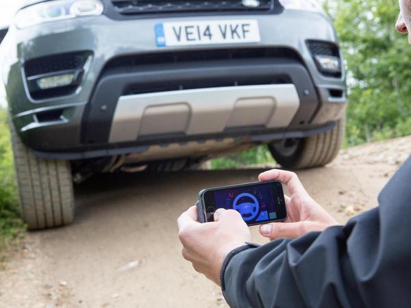 Land Rover dévoile un Range Rover télécommandé