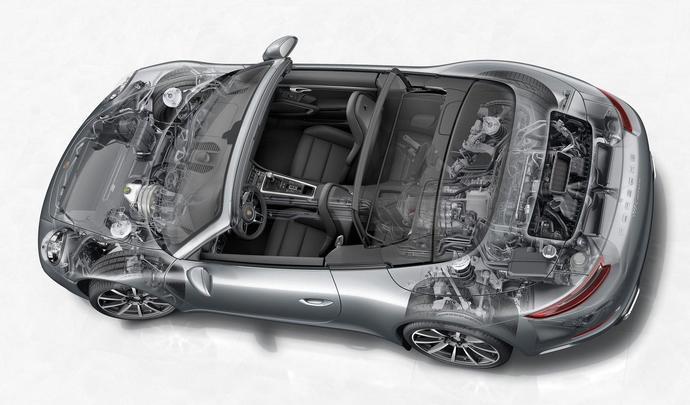 Porsche préparait une 911 hybride rechargeable