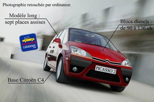 Citroën Picasso : un sept places très attendu
