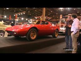 Vidéo en direct de Rétromobile 2014 - Lancia, ses concepts de pointe, ses modèles d'exception