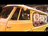 Vidéo en direct de Rétromobile 2014 - Coup de coeur : un petit utilitaire Alfa Romeo