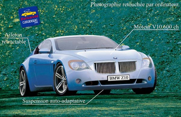 """Une """"supercar"""" BMW pour 2008"""
