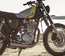 Nouveauté - Yamaha: sous le sable des Scrambler à la pelle !