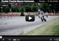 Supermotard: Hermunen dans ses oeuvres (vidéo)