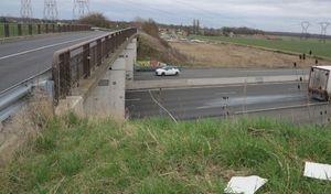 Il voulait se jeter d'un pont sur l'autoroute A6