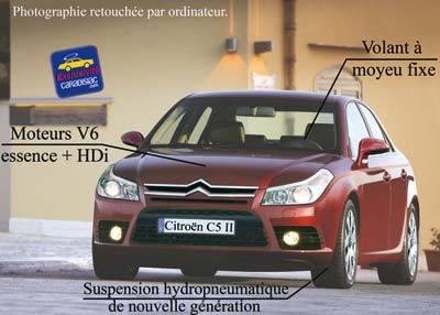 Plus méchante la nouvelle Citroën C5 !