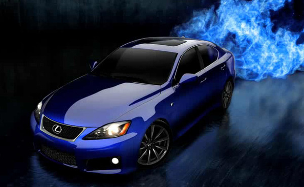 Lexus IS-F: un site et 17 ch de plus !
