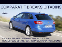 Comparatif : breaks citadins