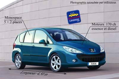 Monospace Peugeot : en préparation !