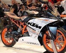 Nouveauté - KTM: la RC390 est déjà à gagner !