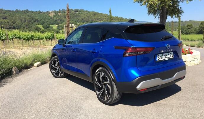 Nissan Qashqai (2021) : les premières images de l'essai en direct
