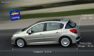La Peugeot 207 SW arrive en 2007