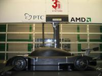 Dallara en Grand-Am: la maquette en soufflerie