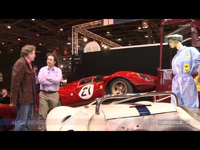 vid o en direct de r tromobile 2014 ferrari p4 la plus belle voiture de course au monde. Black Bedroom Furniture Sets. Home Design Ideas