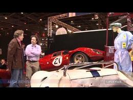 Vidéo en direct de Rétromobile 2014. Ferrari P4 : la plus belle voiture de course au monde?