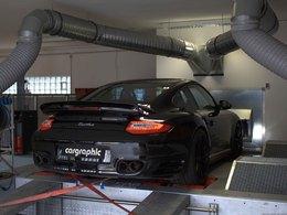 Porsche 911 Turbo S par Cargraphic : juste 585 ch