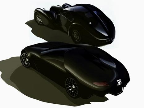 Design - Bugatti Atless Concept