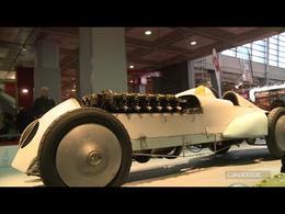 Vidéo en direct du Rétromobile 2014 : 275 km/h dans les années 1920 !