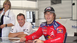GT FFSA : Sébastien Loeb en Ferrari 550 Maranello à Nogaro ?