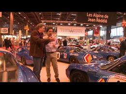 Vidéo en direct de Rétromobile 2014 - Hommage à Jean Rédélé et à ses fameuses Alpine