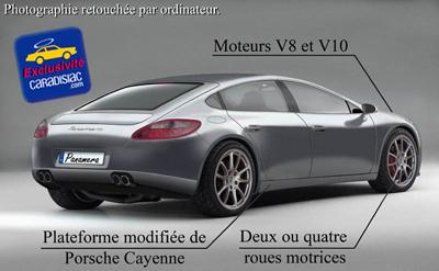 """Porsche Panamera : la Porche 911 """"4 portes"""" arrive bientôt"""