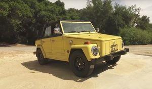 Insolite : une Volkswagen type 181 transformée en voiture électrique