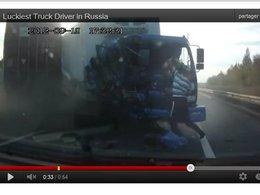 [vidéo] Chuck Norris Style : le chauffeur de camion russe