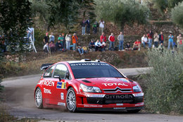 WRC Catalogne 1ere étape : Loeb avec hargne
