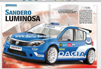 Dacia Sandero: le Super 2000 lui irait si bien... [+ 1 vidéo]