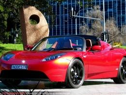 Une première Tesla Roadster livrée en Australie