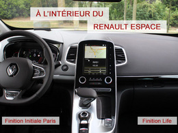 renault espace 5 essais fiabilit avis photos prix. Black Bedroom Furniture Sets. Home Design Ideas