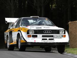 Une Audi Quattro S1 homologuée pour la route !